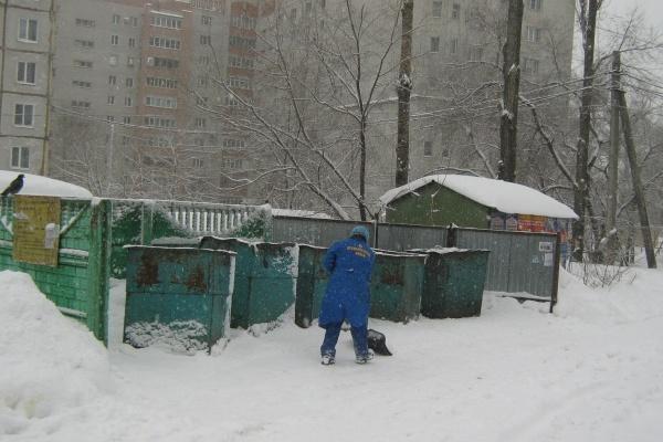 Как Воронеж переживает снегопад
