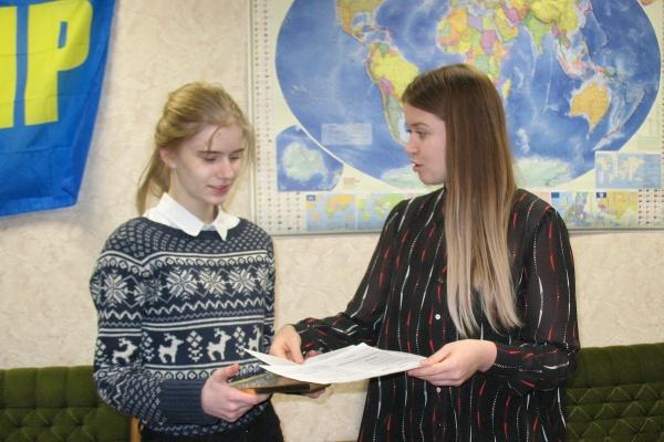 Федеральный парламент наградил воронежскую школьницу за «золото» в ГТО