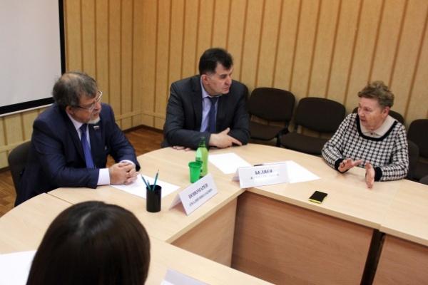 Аркадий Пономарев: «Предложения воронежских пенсионеров обсудят в Госдуме»
