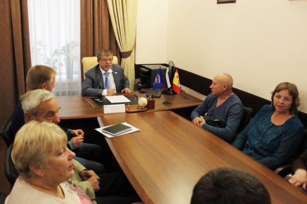 Депутат Госдумы объяснил воронежцам тонкости «Городской среды»