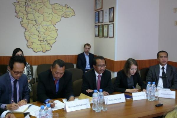 Воронеж заинтересовал государство с населением 250 млн человек