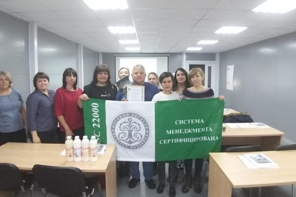 Воронежский производитель подтвердил качество и безопасность молочной продукции на международном уровне