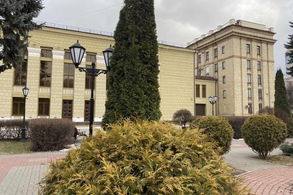 В Воронеже «Нескучный сад» займется озеленением сквера у облправительства