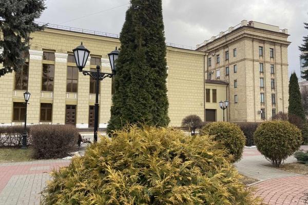 В Воронеже за 7,5 млн рублей приберут скверы у площади Ленина