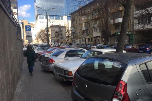 Парковки в центре Воронежа останутся бесплатными до конца недели