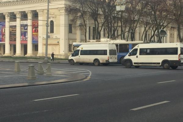 Воронежское «АТП-1» вернулось к привычному графику работы маршруток