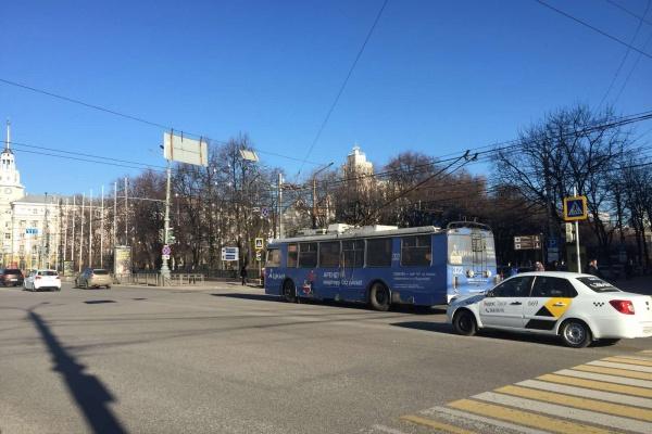 Воронежцев позвали проголосовать за проект улучшения городского транспорта