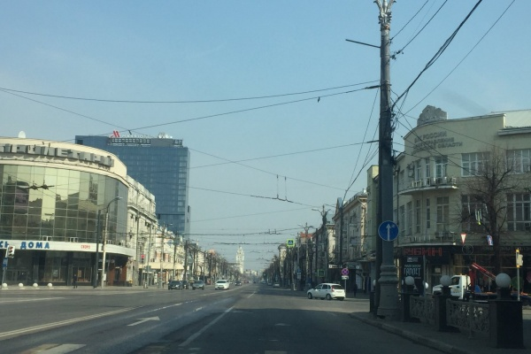 В Воронеже вновь начали поиск проектировщика для проспекта Революции