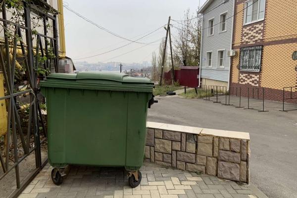 В Воронеже контейнерные площадки ТБО огородят за 70 млн рублей