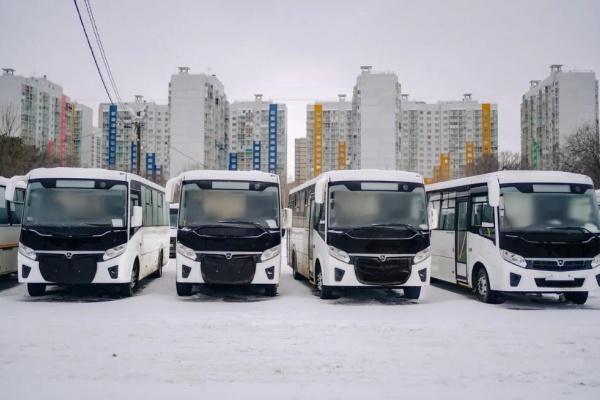 Автопарк воронежского перевозчика пополнился пятью новыми автобусами