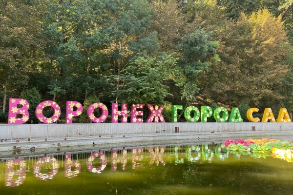 Александр Гусев объявил об открытии XI воронежского международного фестиваля «Город-сад»