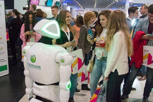 Воронежцам выпал шанс сделать селфи с роботом