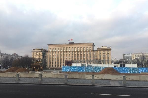 Воронеж начал подготовку к Новому году