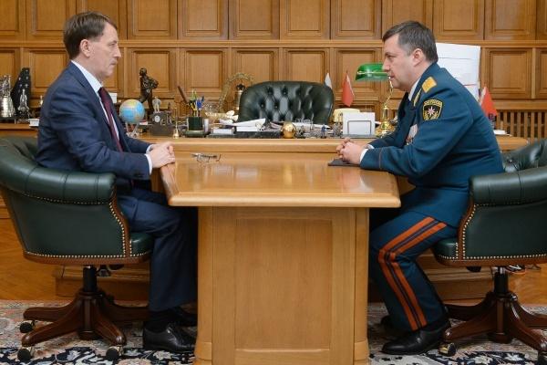 Игорь Кобзев попрощался с воронежским губернатором