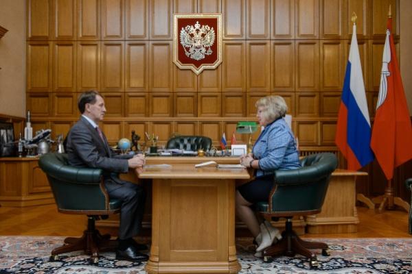Семилукский префект отчиталась перед воронежским губернатором