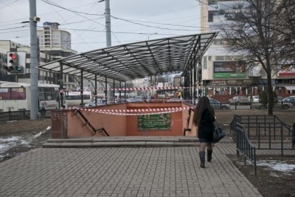 Мэрия Воронежа перенесла срок передачи в концессию перехода у цирка