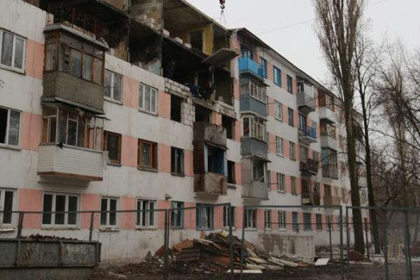 Ремонт взорвавшейся воронежской многоэтажки завершится в марте