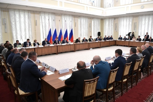 Алексей Гордеев похвалился перед президентом РФ воронежскими ТОСами