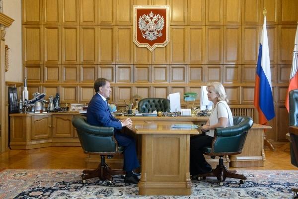 Губернатор заинтересовался бюджетными делами Воронежа