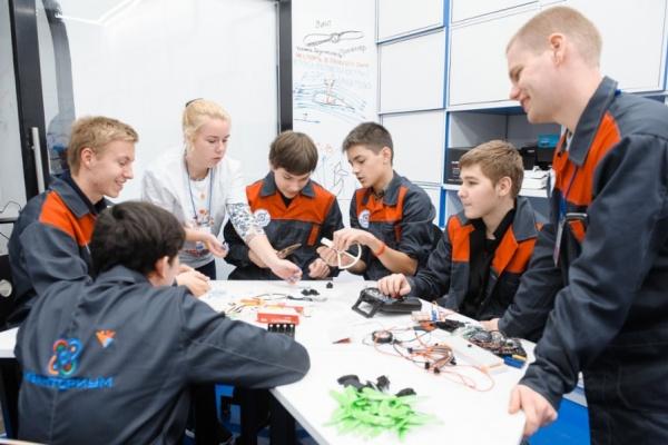 Детский технопарк «Кванториум» официально открылся в Воронеже
