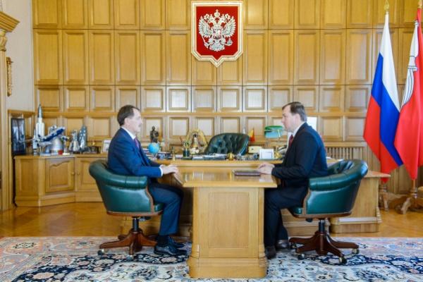 Воронежский губернатор дал отличные рекомендации федеральному чиновнику