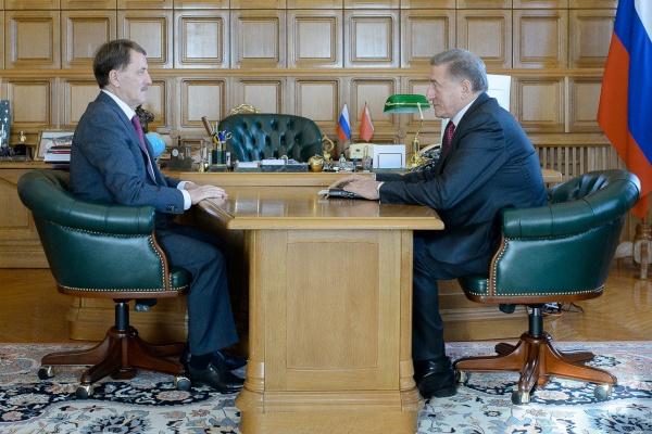 Воронежская область надеется на помощь федералов при строительстве соцобъектов