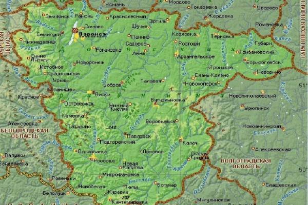 Воронежская область может войти в состав макрорегиона