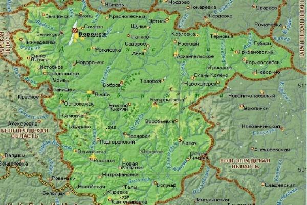 Воронежскую область включили в состав Центрально-Черноземного макрорегиона