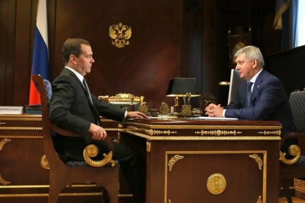 Дмитрий Медведев обсудил с главой Воронежской области помощь аграриям