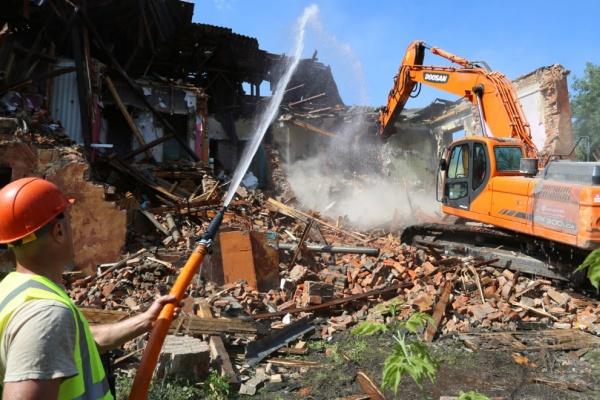 ВВоронеже 56 расселённых аварийных домов снесут в следующем году