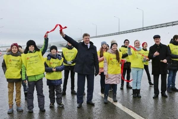 Открыт новый платный участок дороги М-4 «Дон» вВоронежской области