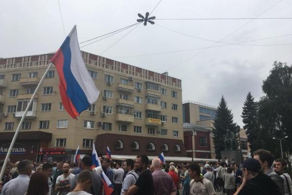 В Воронеже митинг сторонников Алексея Навального прошел без задержаний