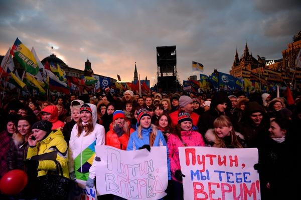 Путин с блеском выиграл виртуальные  выборы от «Левада-центра»