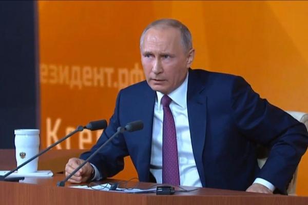 Корреспондент «TVГубернии» задал вопрос Путину