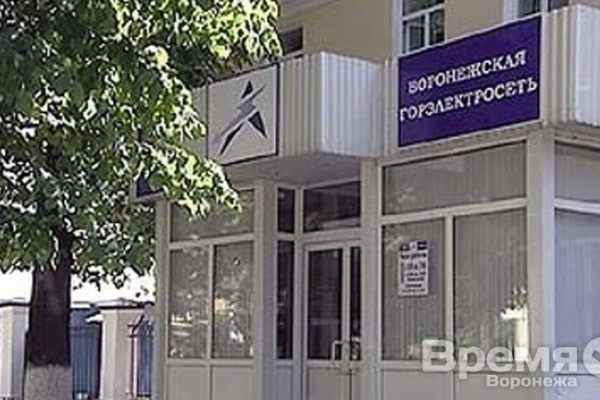 Воронежский мэр назвал сумму убытков Горэлектросети