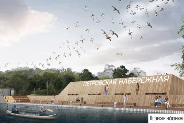 В Воронеже запланировали вторую очередь благоустройства Петровской набережной
