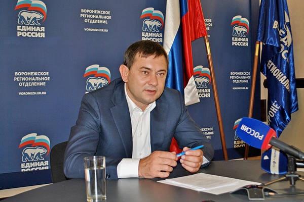 Воронежскому единороссу выпало решать несуществующую проблему