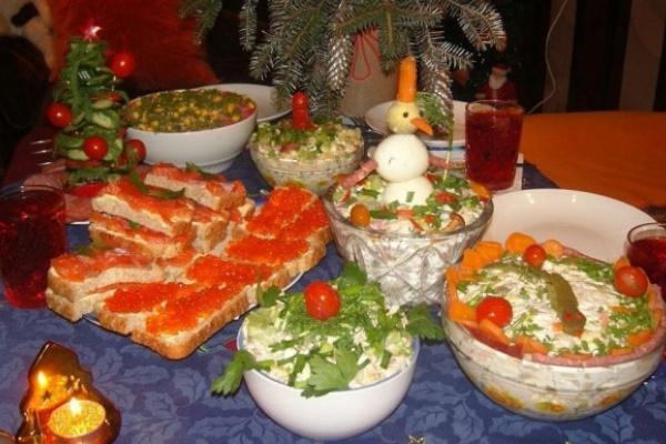 Воронежцы встретили Новый год экономно