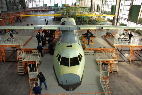 Воронежский Ил-112В вошел в стадию окончательной сборки
