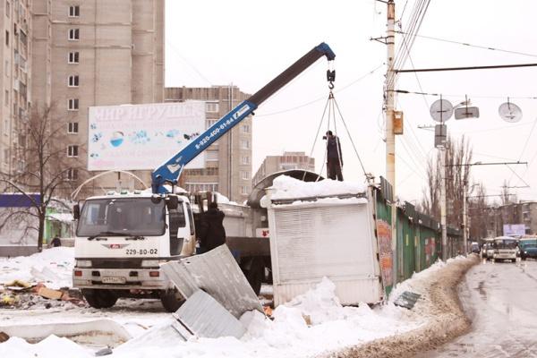 В Воронеже нашли еще один способ борьбы с НТО
