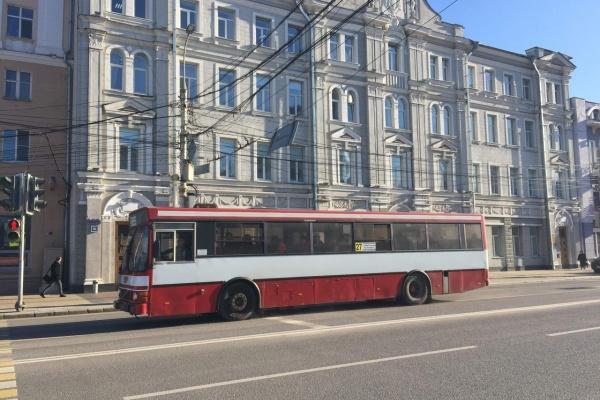 Мэрия Воронежа возьмет в лизинг автобусы на миллиард