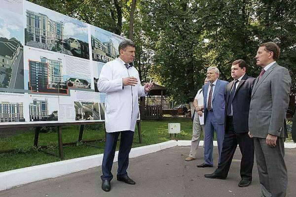 Проектирование нового корпуса онкодиспансера в Воронеже начнется в 2018 году