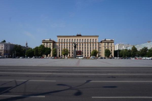 Воронежцы не представляют главную площадь без Ленина
