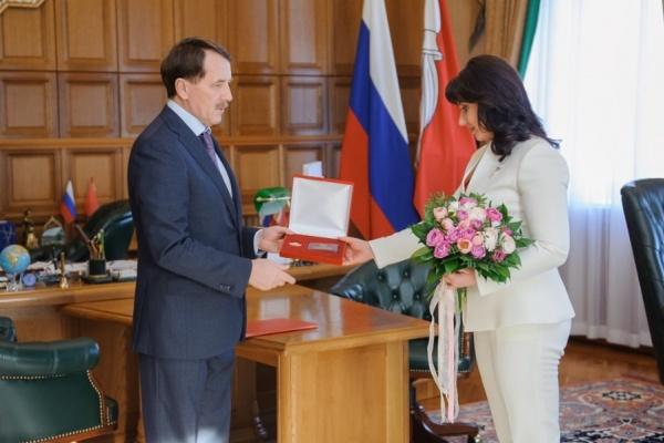 Оксана Соколова приняла предложение воронежского губернатора