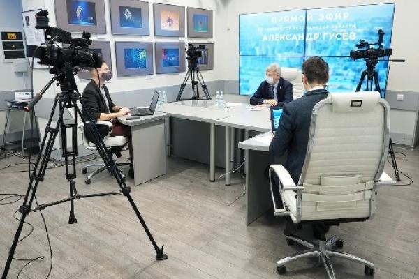 Воронежский губернатор затронул по верхам темы уходящего года