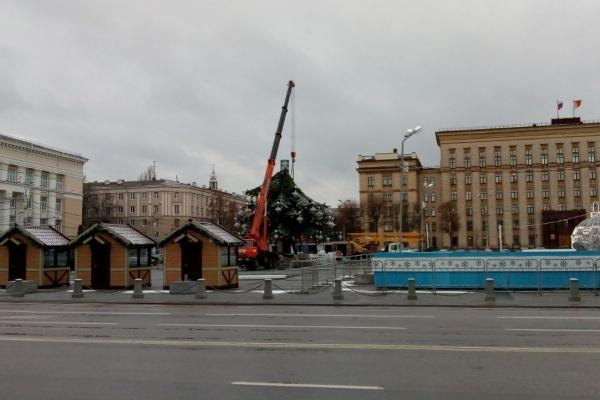Власти определились с охранником Нового года в Воронеже