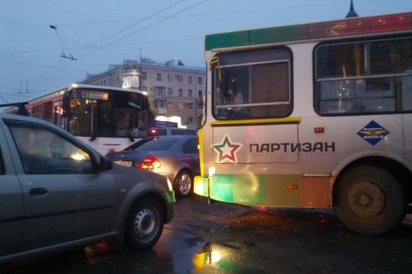 Воронежский пассажирский транспорт обновляется только за счет частных компаний