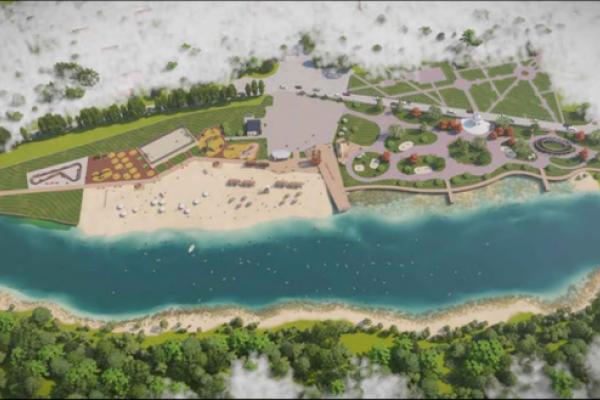 Второй этап благоустройства пляжа под Воронежем обойдется в 19 млн рублей