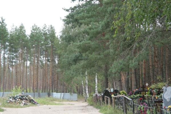 Под Воронежем предприимчивые дельцы торгуют местами на кладбище