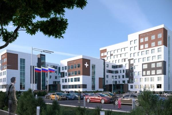 В Воронеже представили проект новой поликлиники на Московском проспекте за 2,5 млрд рублей